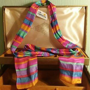 🌷VTG🌷Liz Claiborne silk tie/scarf